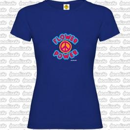 Camiseta Flower Power  chica