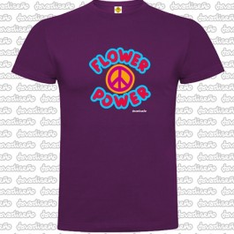 Camiseta Flower Power