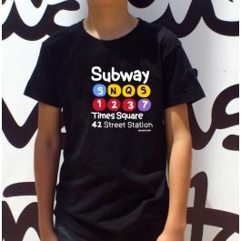 Camiseta Metro NY