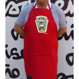 Delantal ketchup