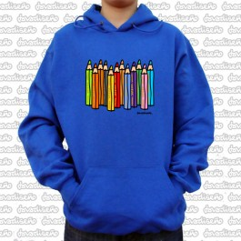 Sudadera lapices color