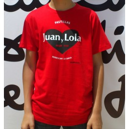 Camiseta Juan y Lola