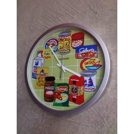 Reloj marcas alimentos