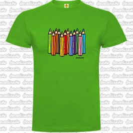 Camiseta Lapices Colores