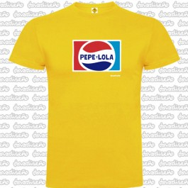 Camiseta Pepe y Lola