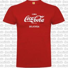 Camiseta Coca Boba