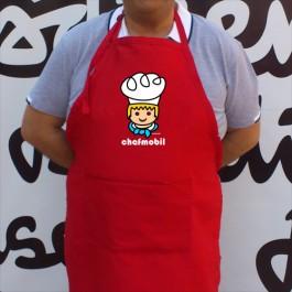 Delantal Chefmobil